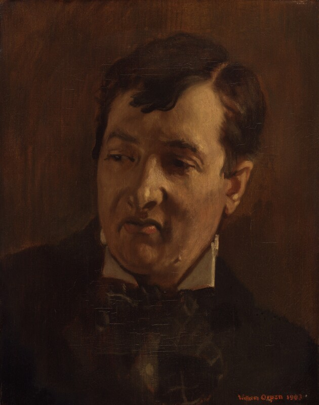 George Charles Beresford, by Sir William Orpen, 1903 - NPG 5596 - © National Portrait Gallery, London