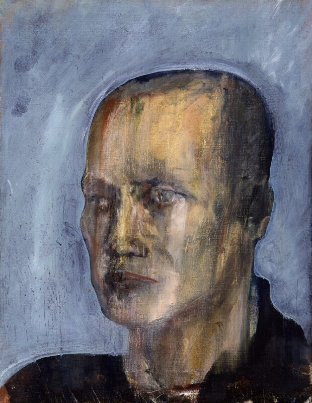 Steven Berkoff, by Yolanda Sonnabend, 1983 - NPG 6560 - © National Portrait Gallery, London