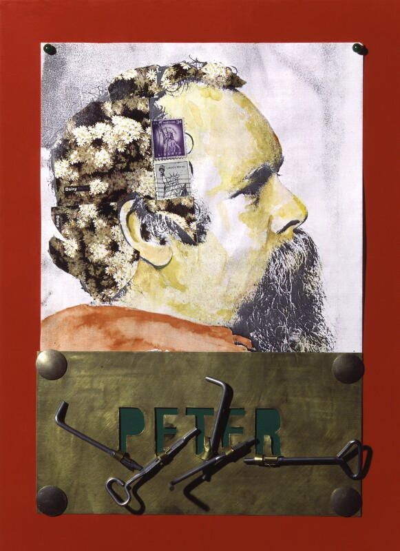 Peter Blake, by Clive Barker, 1983 - NPG 5845 - © National Portrait Gallery, London