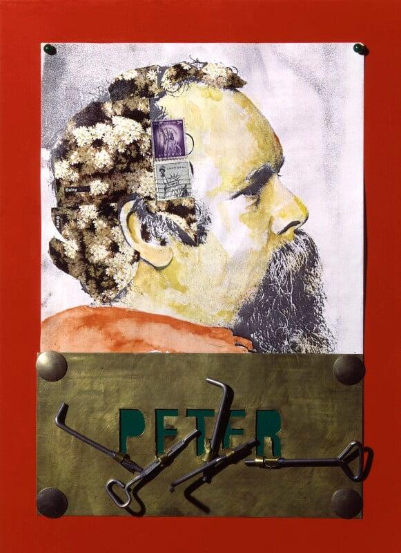 Peter Blake, by Clive Barker, 1983 - NPG 5845 - © National Portrait Gallery, London