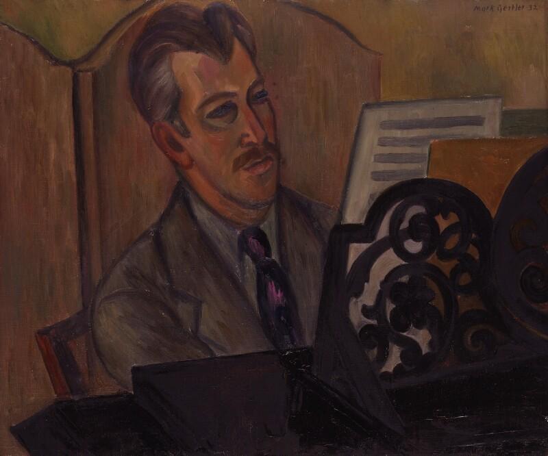 Sir Arthur Bliss, by Mark Gertler, 1932 - NPG 5305 - © National Portrait Gallery, London