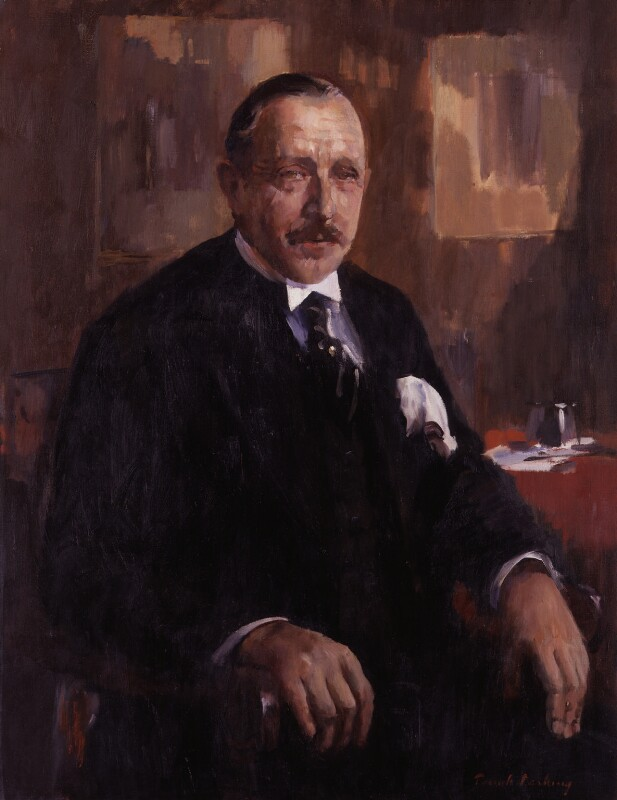 Ralph David Blumenfeld, by Patrick Lambert Larking, circa 1935 - NPG 5846 - © National Portrait Gallery, London