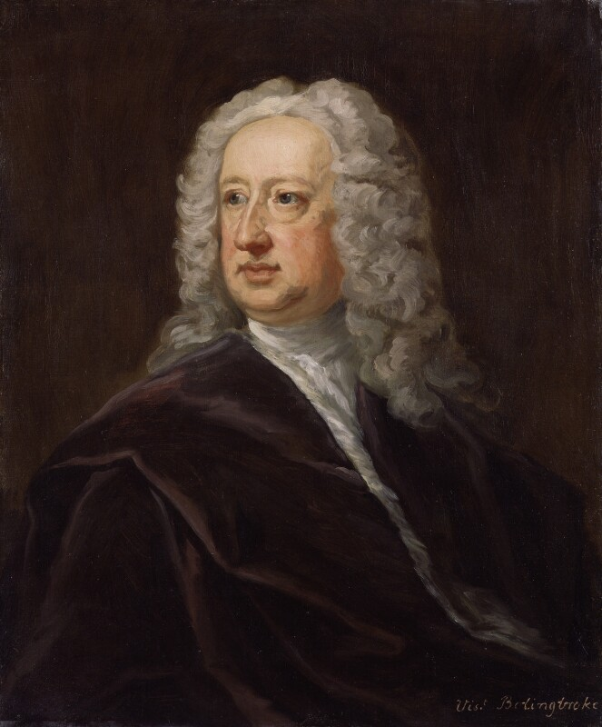 Henry St John, 1st Viscount Bolingbroke, by Jonathan Richardson, circa 1738 -NPG 5598 - © National Portrait Gallery, London