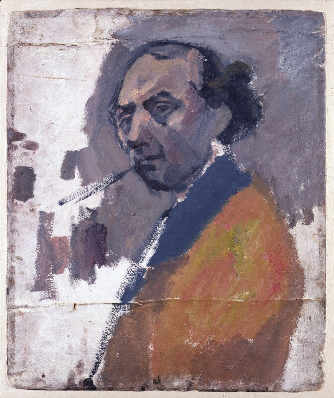 David Bomberg, by David Garshen Bomberg, circa 1937 - NPG 5345a - © National Portrait Gallery, London