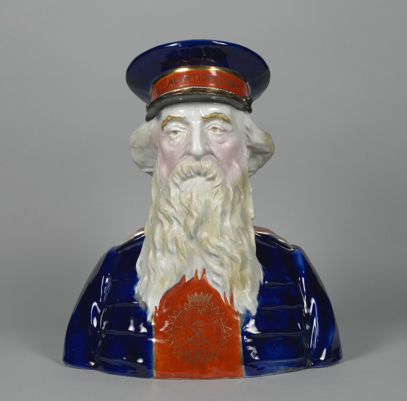 William Booth, by Unknown artist, circa 1900 - NPG 5814 - © National Portrait Gallery, London