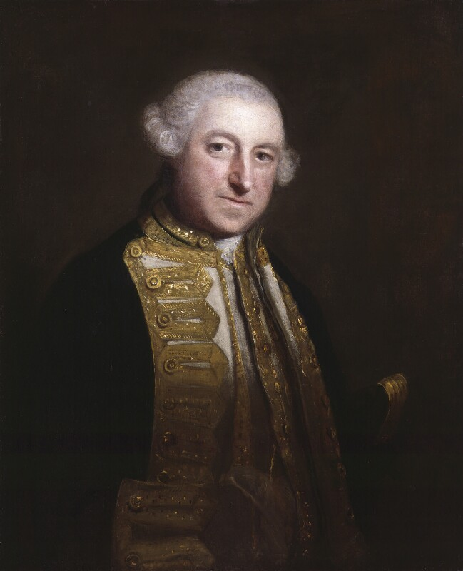 Edward Boscawen, by Sir Joshua Reynolds, circa 1755 - NPG 5302 - © National Portrait Gallery, London