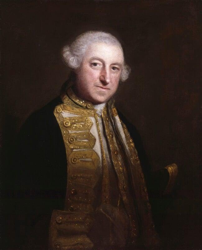 Edward Boscawen, by Sir Joshua Reynolds, circa 1755 - NPG 5302 - © National Portrait Gallery, London