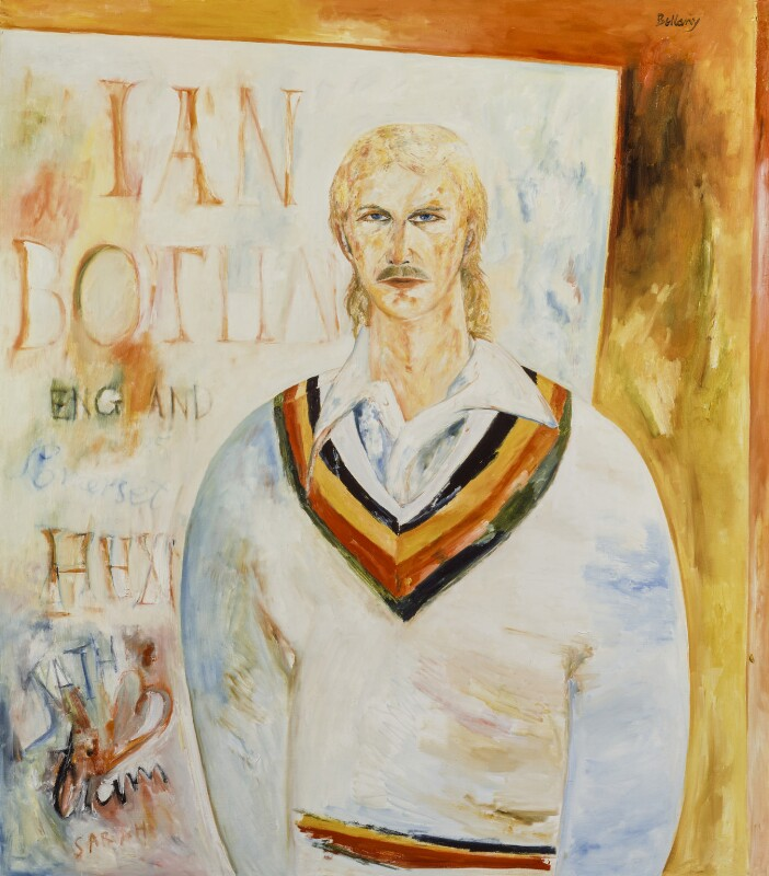 Ian Botham, by John Bellany, 1985 - NPG 5835 - © National Portrait Gallery, London