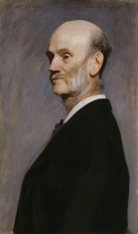 Hercules Brabazon Brabazon, by John Singer Sargent, early 1890s - NPG 5706 - © National Portrait Gallery, London