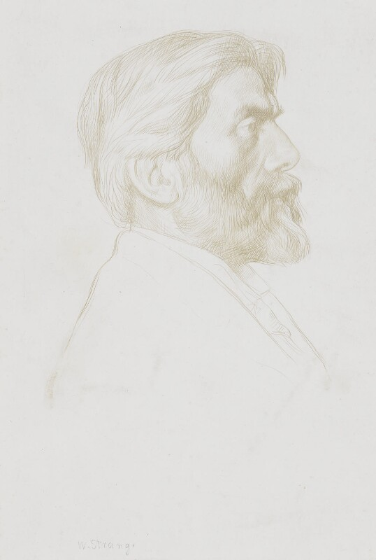 Robert Bridges, by William Strang, 1898 - NPG 5979 - © National Portrait Gallery, London