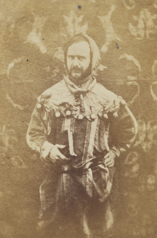 William Burges, by Unknown photographer, 1860s -NPG P231 - © National Portrait Gallery, London