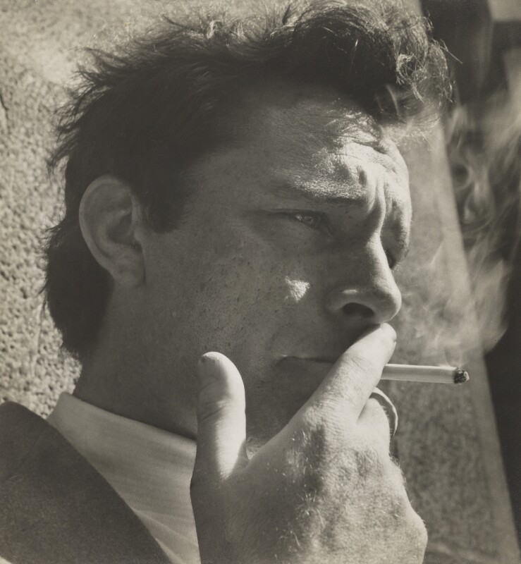 Richard Burton, by Daniel Farson, 1953 - NPG P293 - © National Portrait Gallery, London