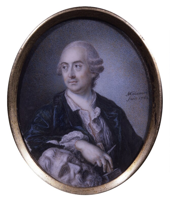 Agostino Carlini, by Charles Maucourt, 1762 - NPG 5388 - © National Portrait Gallery, London