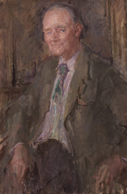 Sir Hugh Maxwell Casson, by Peter Greenham, 1986-1987 - NPG 5820 - © National Portrait Gallery, London