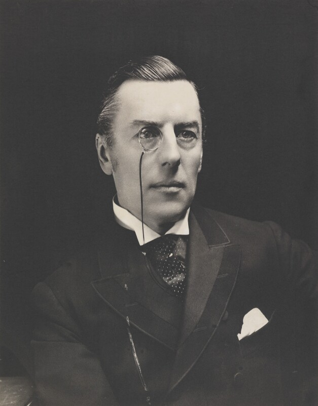 Joe Chamberlain, by Eveleen Myers (née Tennant), early 1890s - NPG P142 - © National Portrait Gallery, London