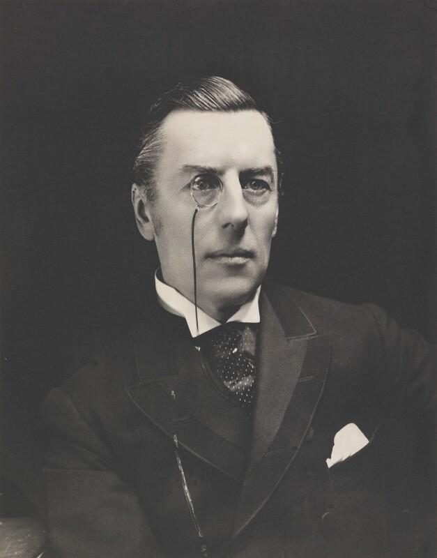 Joe Chamberlain, by Eveleen Myers (née Tennant), early 1890s - NPG P142 - © National Portrait Gallery, London
