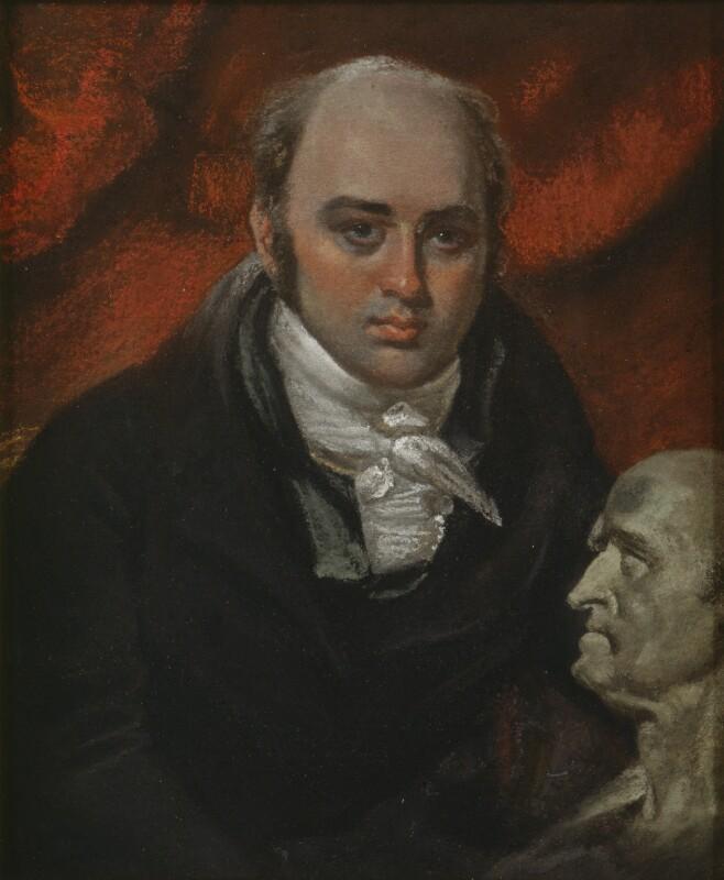 Sir Francis Leggatt Chantrey, by John Raphael Smith, probably 1818 - NPG 5380 - © National Portrait Gallery, London