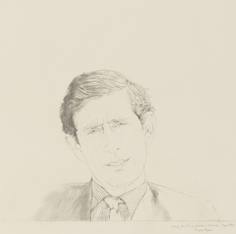 Prince Charles, by Bryan Organ, 1980 - NPG 5420 - © National Portrait Gallery, London