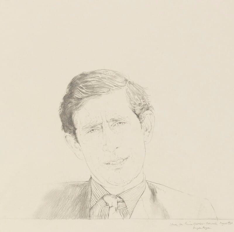 Prince Charles, by Bryan Organ, 1980 - NPG 5420 - © National Portrait Gallery, London