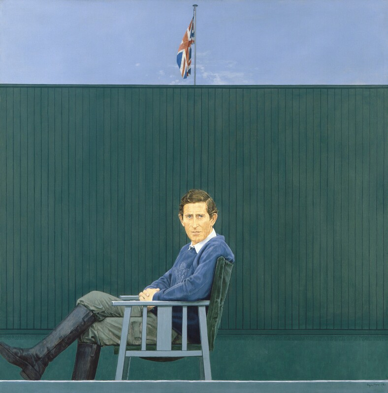Prince Charles, by Bryan Organ, 1980 - NPG 5365 - © National Portrait Gallery, London