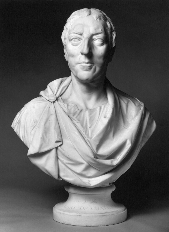 William Pitt, 1st Earl of Chatham, by Joseph Wilton, circa 1766 or after - NPG 6081 - © National Portrait Gallery, London