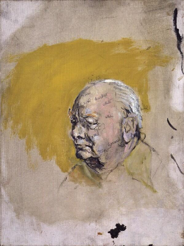 Winston Churchill, by Graham Vivian Sutherland, 1954 - NPG 5331 - © National Portrait Gallery, London