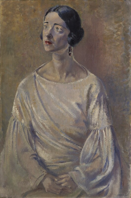 Harriet Cohen, by Clara Klinghoffer, 1925 - NPG 5736 - © National Portrait Gallery, London