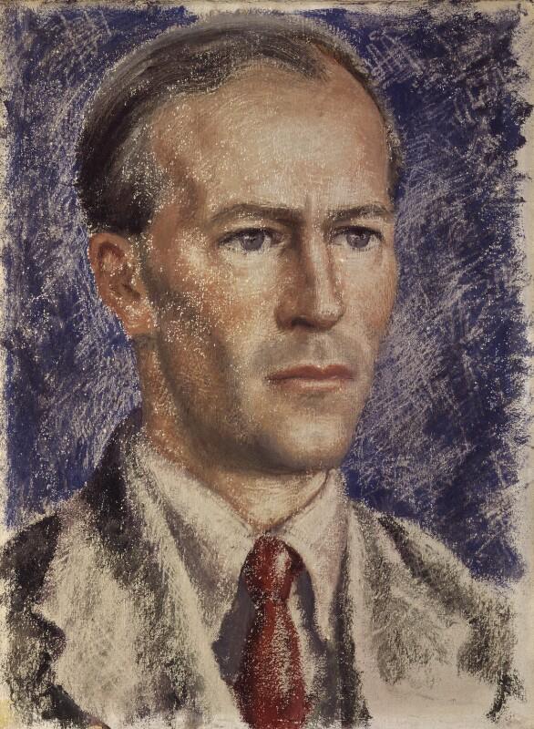 George Douglas Howard Cole, by Stella Bowen, 1944-1945 - NPG 5935 - © National Portrait Gallery, London