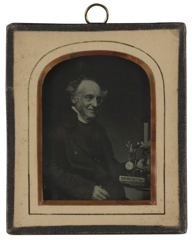 Derwent Coleridge, by Unknown photographer, 1856 - NPG P321 - © National Portrait Gallery, London