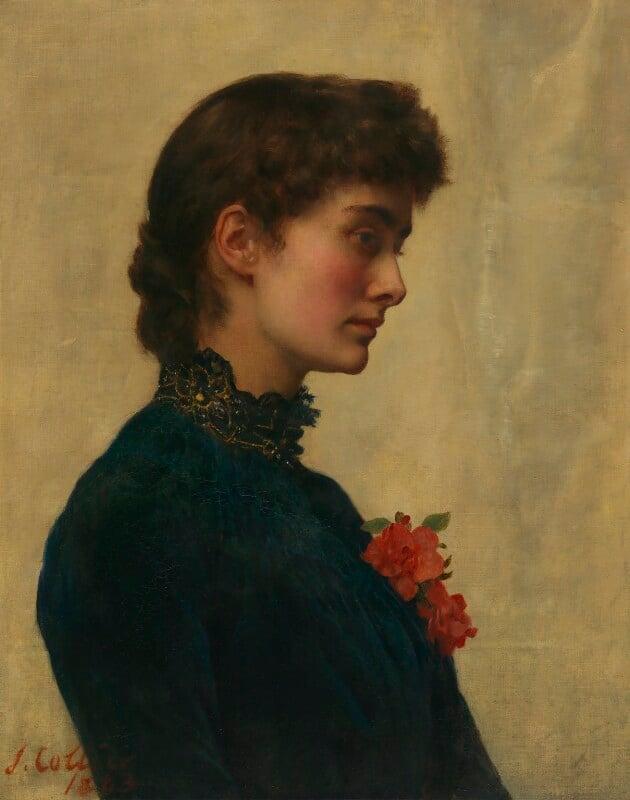 Marian Collier (née Huxley), by John Collier, 1882-1883 -NPG 6032 - © National Portrait Gallery, London