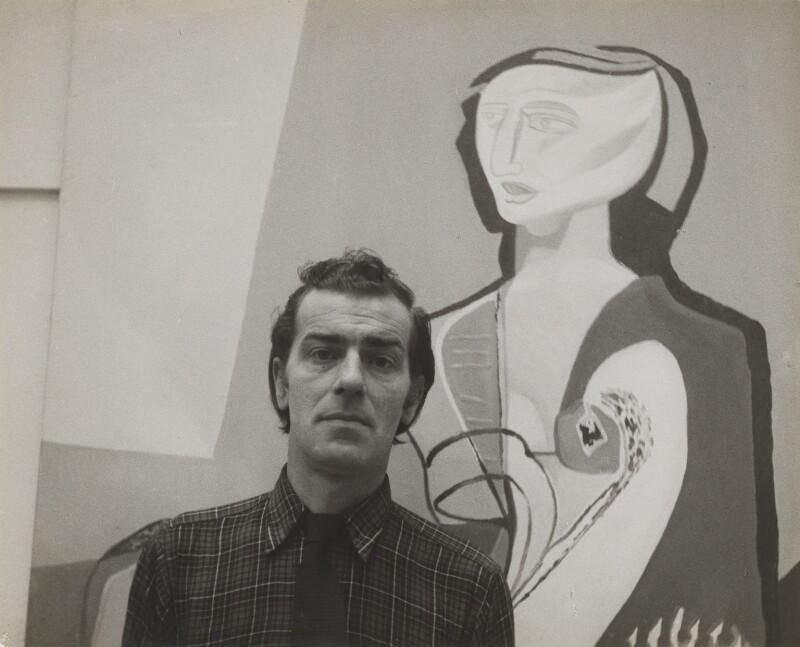 Robert Colquhoun, by John Deakin, 1950s - NPG P295 - © John Deakin Archive