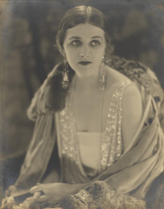 Dame Gladys Cooper, by Bertram Park, 1922 - NPG P331 - © estate of Bertram Park / Camera Press