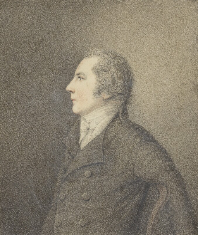 Joseph Cottle, by Robert Hancock, 1800 - NPG 5723 - © National Portrait Gallery, London