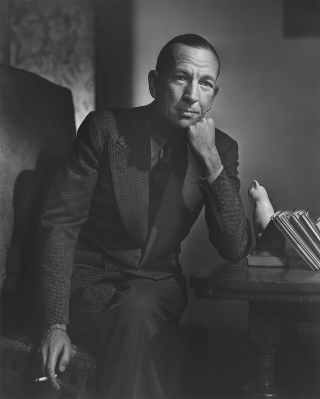 Noël Coward, by Yousuf Karsh, 1943 - NPG P245 - © Karsh / Camera Press