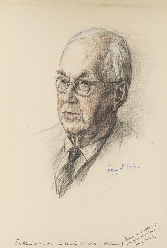 Sir Henry Hallett Dale, by Juliet Pannett, 1963 - NPG 5759 - © National Portrait Gallery, London