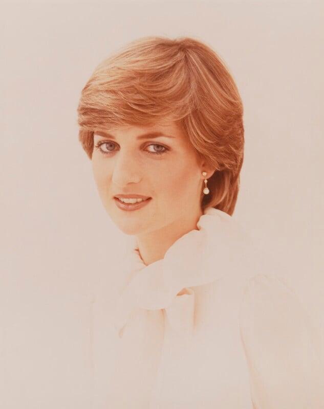 Diana, Princess of Wales, by Lord Snowdon, 1981 - NPG P218 - Snowdon / Vogue 1981 © Condé Nast Publications Ltd