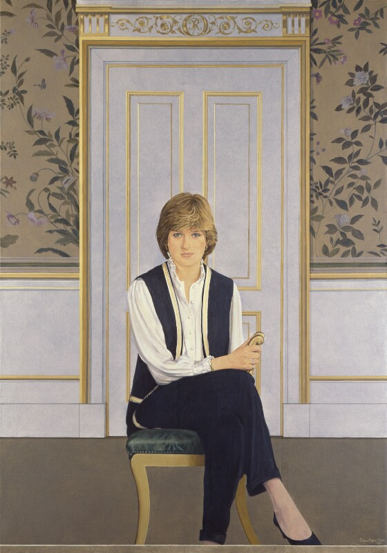 Diana, Princess of Wales, by Bryan Organ, 1981 - NPG 5408 - © National Portrait Gallery, London