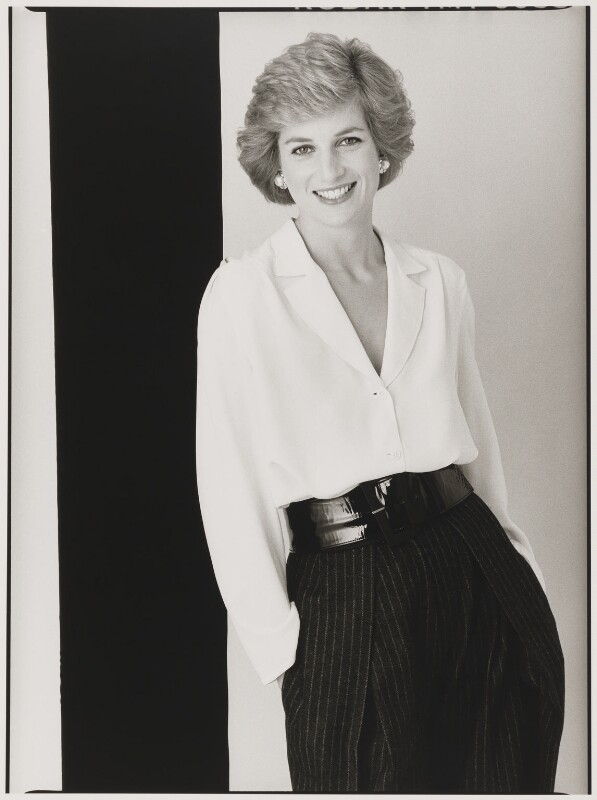Diana, Princess of Wales, by David Bailey, 1988 - NPG P397 - © David Bailey