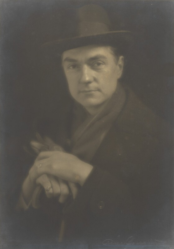 John Drinkwater, by Alice Boughton, 1920s - NPG P204 - © National Portrait Gallery, London