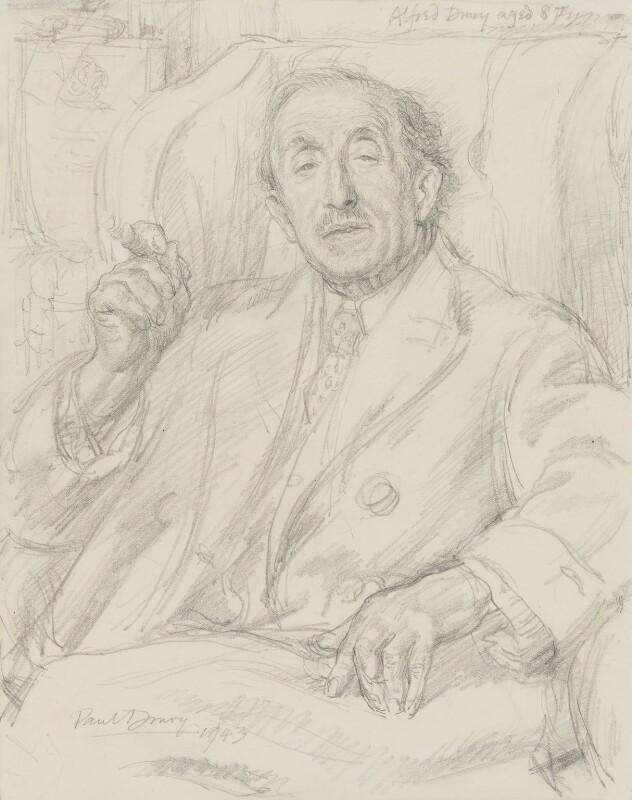 Alfred Drury, by Paul Drury, 1943 - NPG 5458 - © estate of APD Drury (Paul Drury PPRE)