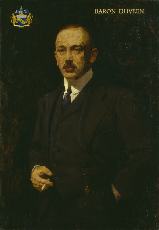 Joseph Duveen, Baron Duveen, by Isaac Israels, 1930s? - NPG 5840 - © National Portrait Gallery, London