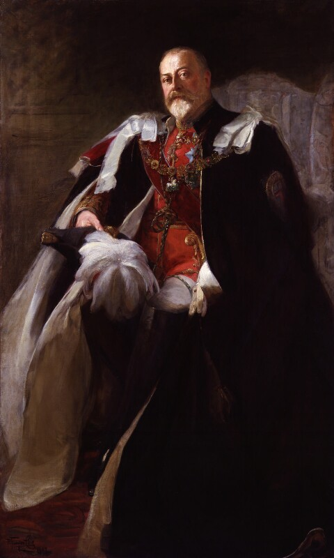 King Edward VII, by Philip Tennyson Cole, 1907 - NPG 5433 - © National Portrait Gallery, London