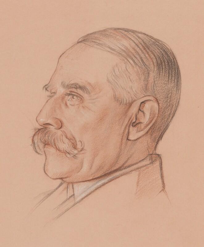 Sir Edward Elgar, Bt, by Sir William Rothenstein, circa 1919 - NPG 5707 - © National Portrait Gallery, London