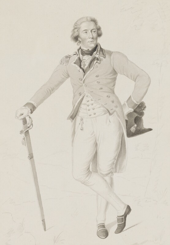Thomas Bruce, 7th Earl of Elgin, by George Perfect Harding, after  Anton Graff, early 19th century, based on a work of 1787 - NPG 5733 - © National Portrait Gallery, London