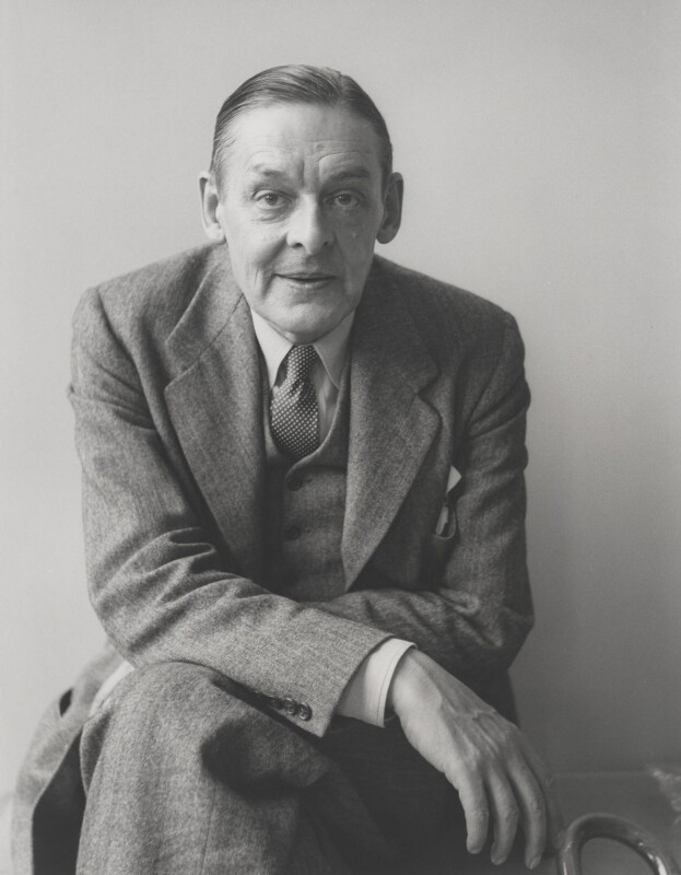 T.S. Eliot, by Kay Bell Reynal, 1955 - NPG P205 - © reserved; collection National Portrait Gallery, London