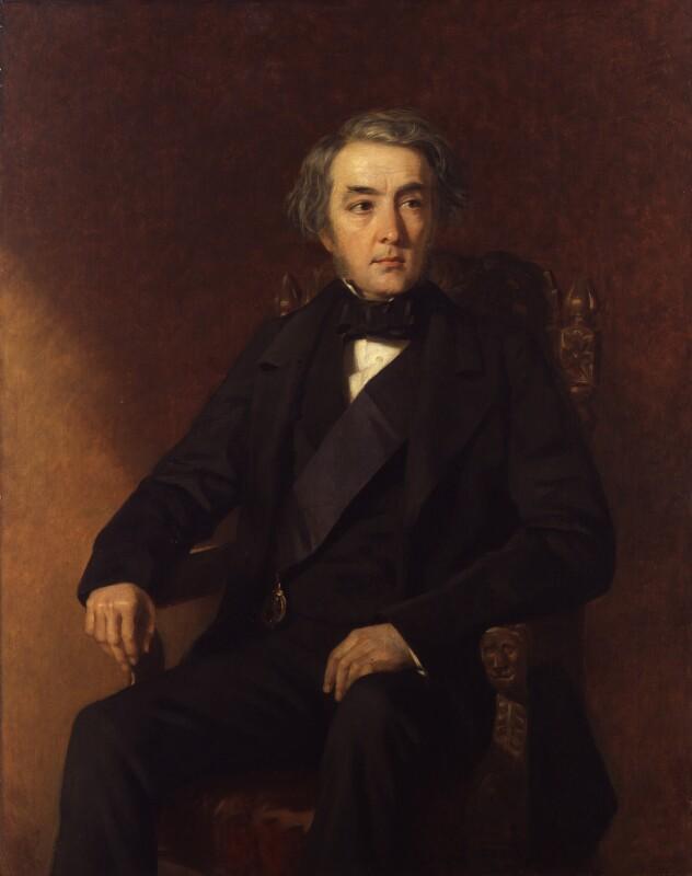 Francis Egerton, 1st Earl of Ellesmere, by Edwin Longsden Long,  - NPG 5524 - © National Portrait Gallery, London