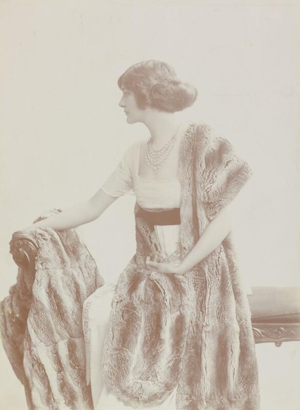 Lily Elsie (Mrs Bullough), by Rita Martin, 1907 - NPG P151 - © National Portrait Gallery, London