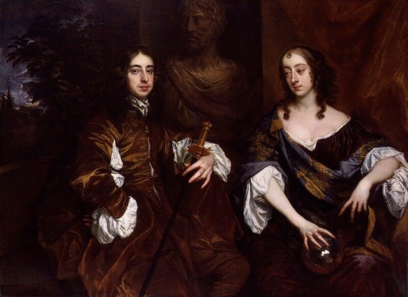 Arthur Capel, 1st Earl of Essex; Elizabeth, Countess of Essex, by Sir Peter Lely, circa 1655-1660 - NPG 5461 - © National Portrait Gallery, London