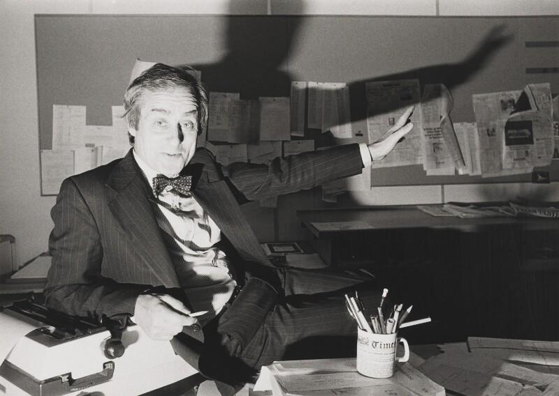 Harold Matthew Evans, by Norman Parkinson, 1981 - NPG P173 - © Norman Parkinson Archive/ Iconic Images