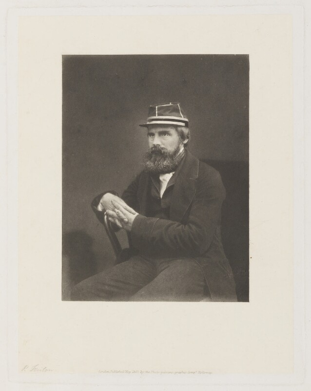 Roger Fenton, by Hugh Welch Diamond, 1868 - NPG P226 - © National Portrait Gallery, London